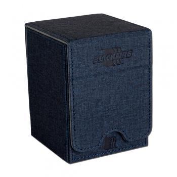 Blackfire Convertible Premium Deck Box Single Vertical 100+ Standard Size Cards - Blue